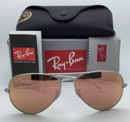 Ray Ban Aviator RB3025 019/Z2 Silver Pink mirror