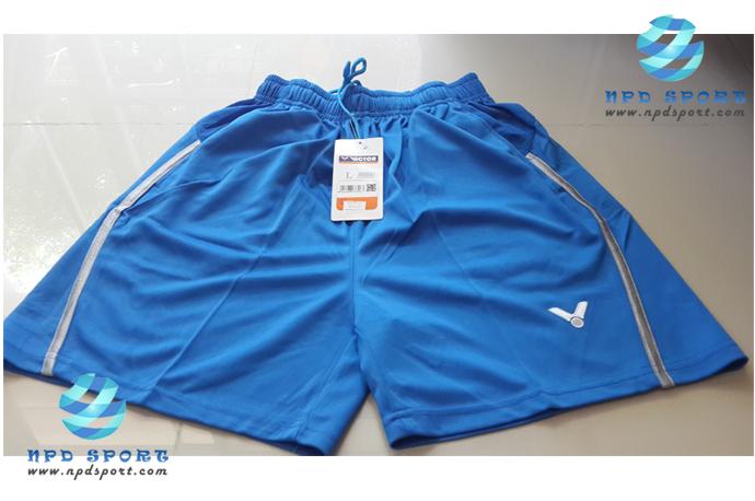 กางเกงแบดมินตัน VICTOR สีฟ้า : 455