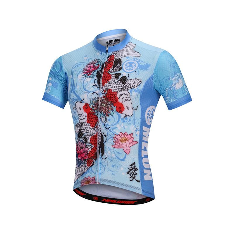 เสื้อปั่นจักรยานแขนสั้นแบรนด์ MELON : ML1701230
