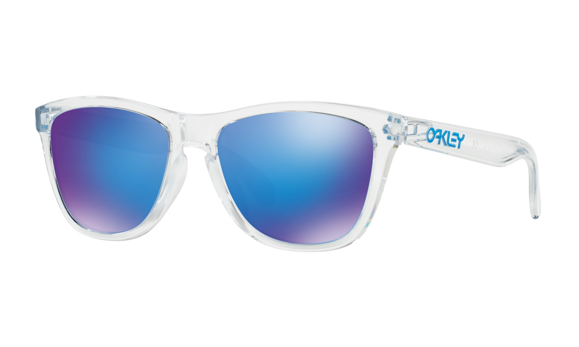 OAKLEY FROGSKINS OO9245-41 BLUE MIRROR (Asian fit)