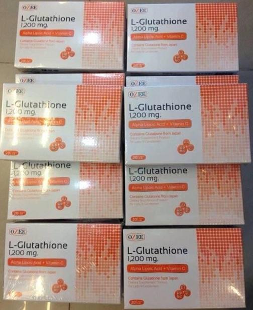อาหารเสริมผิวขาว OZEE L-Glutathione (โอซี แอล-กลูต้าไธโอน)