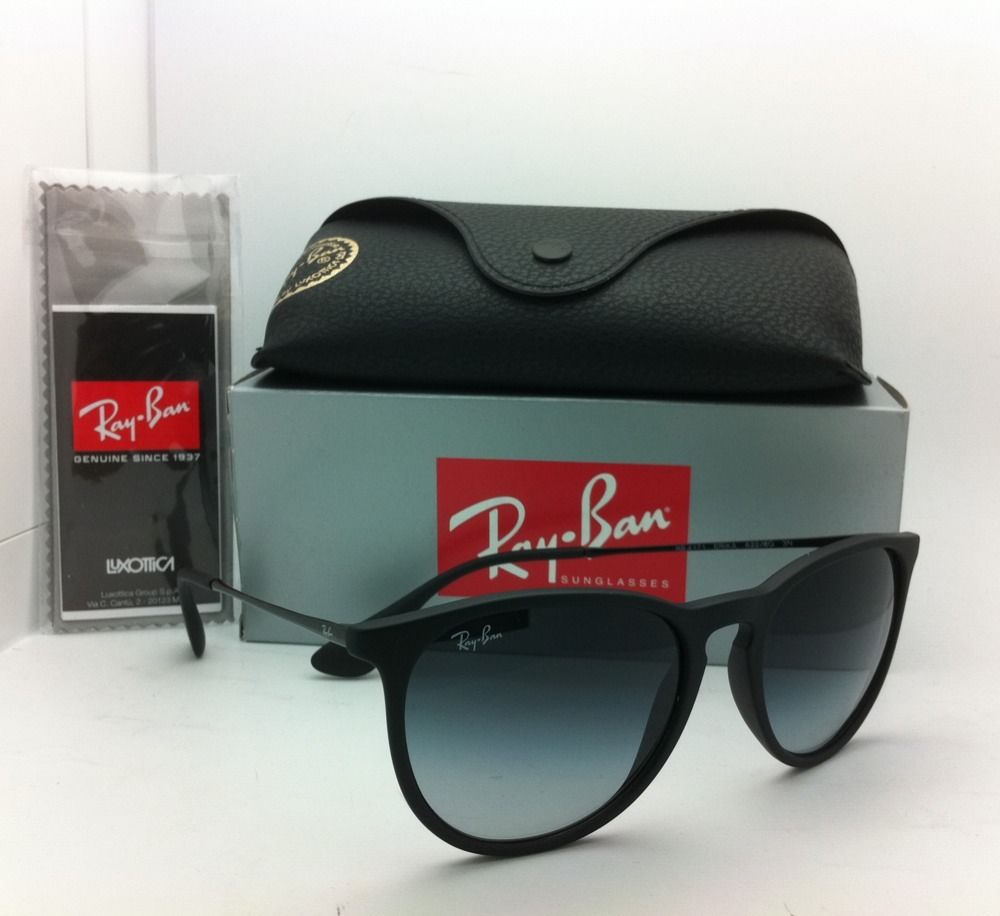 Ray-Ban Erika RB4171 622/8G Black Frame/Gray Gradient Lens