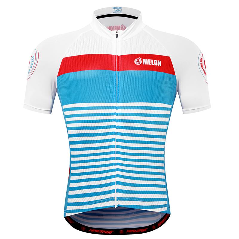 เสื้อปั่นจักรยานแขนสั้นแบรนด์ MELON : ML1701050