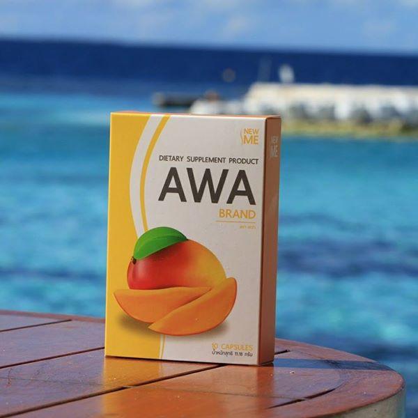 AWA By New me เอว่า อาหารเสริมลดน้ำหนัก