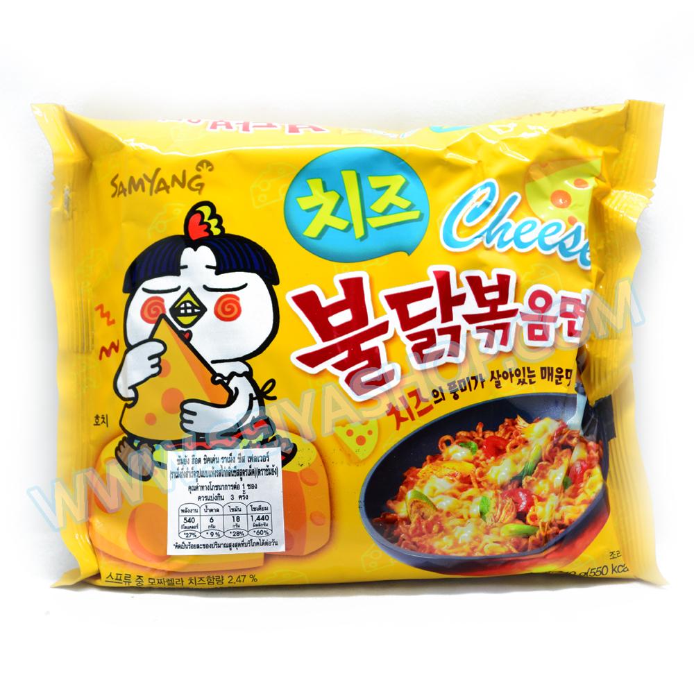 มาม่าเกาหลี รสเผ็ดชีส