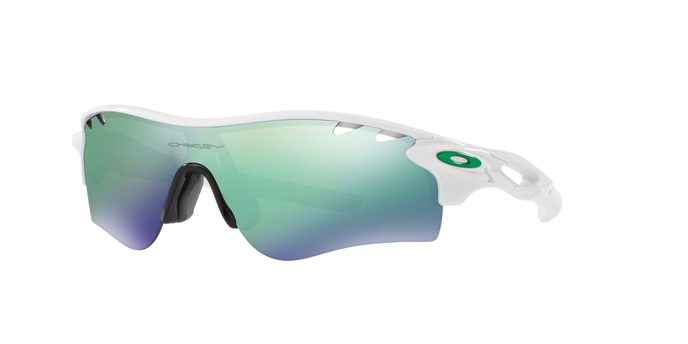 Oakley OO9206-05 RADARLOCK PATH POLISHED WHITE Jade Iridium