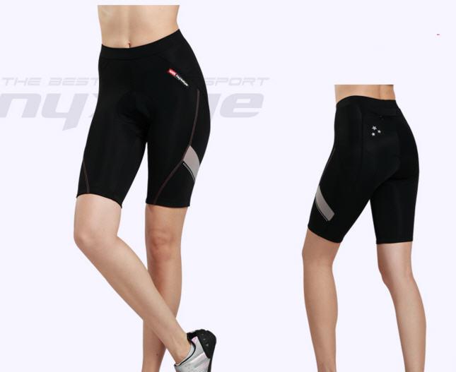 กางเกงปั่นจักรยานขาสั้นผู้หญิง NYXEYE : PS-7031