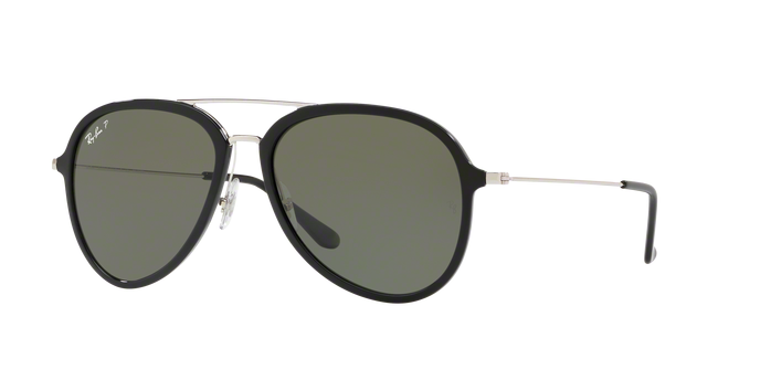 Ray Ban RB4298 601/9A Pilot Black Polarzied