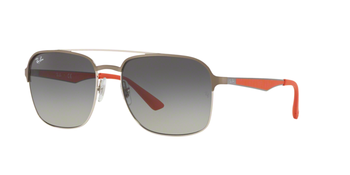 Ray Ban RB3570 911111 Grey Gradient