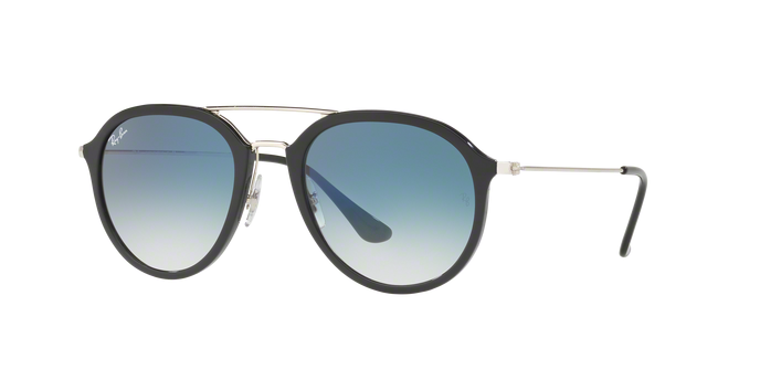 Ray Ban RB4253 62923F BLACK Clear Gradient Blue