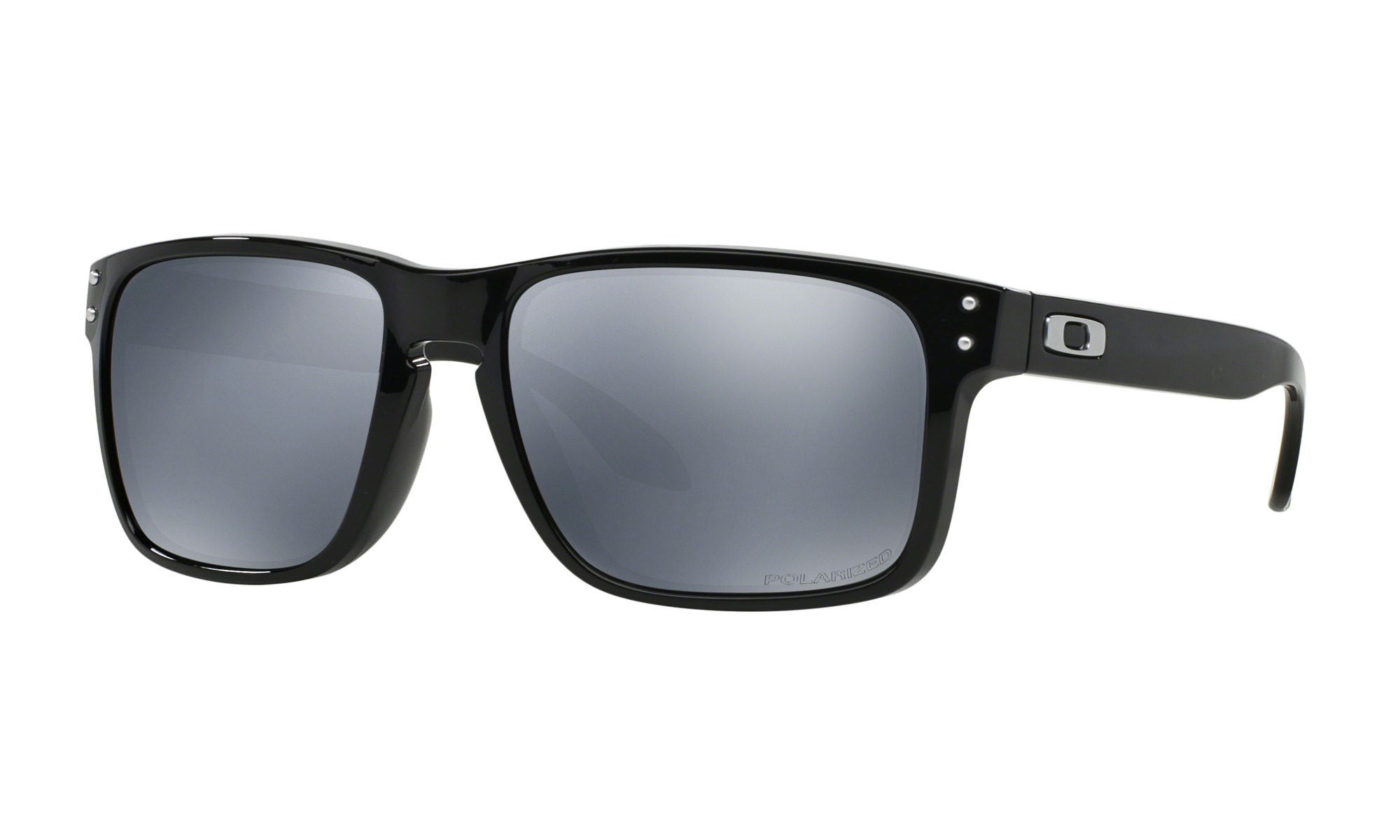 OAKLEY HOLBROOK OO9244-02 Black iridium polarized (Asian fit)