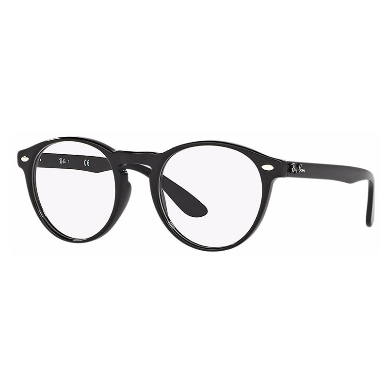 Ray Ban RB5283F 2000 SHINY BLACK Round
