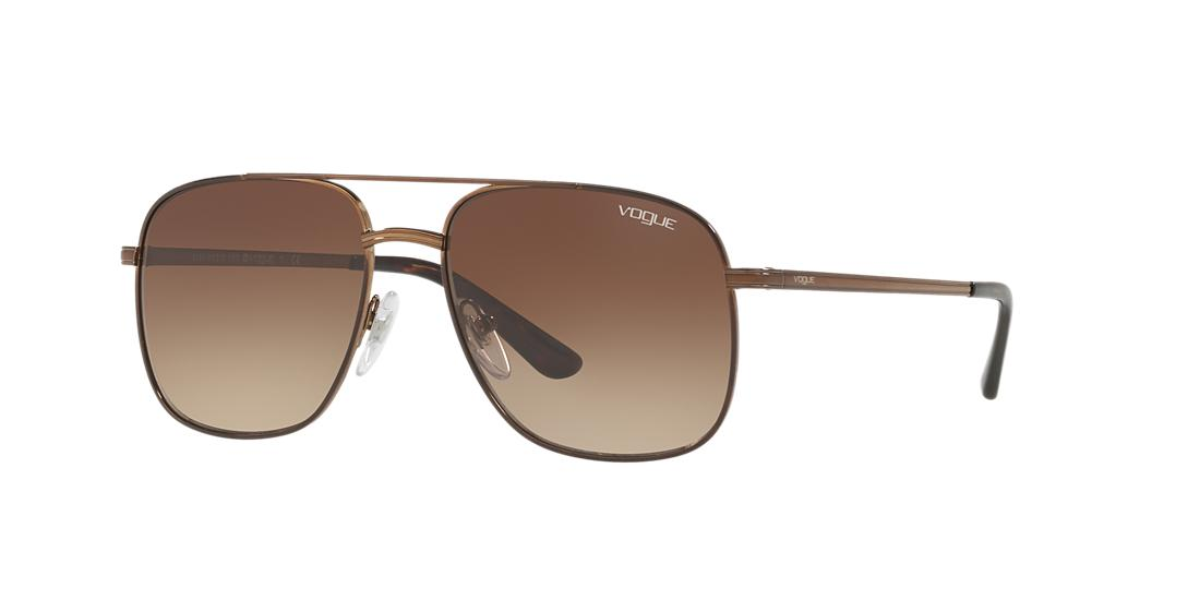 VOGUE VO4083S Brown Gradient Special Collection Designed by Gigi Hadid