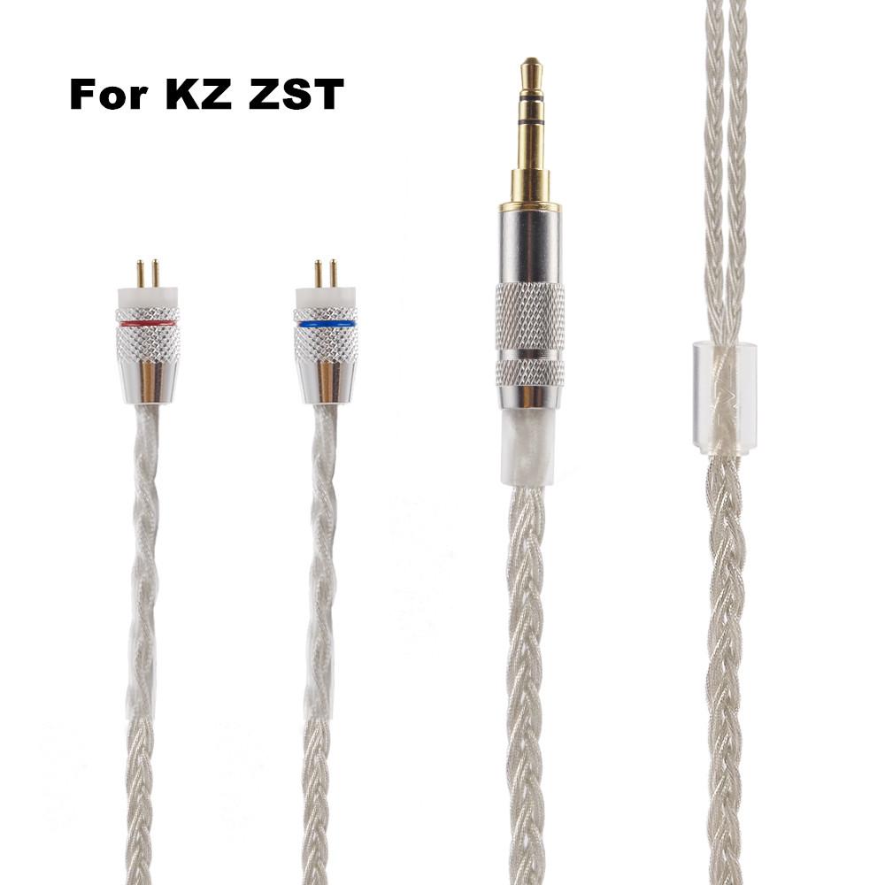 KZ Premium Cable สำหรับ ZST,ZST,ColorFull,ED12