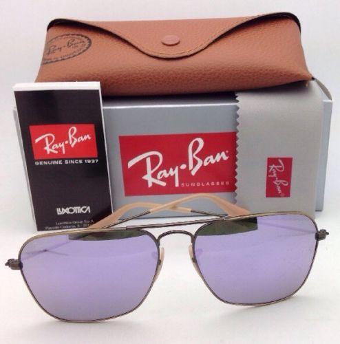 Ray Ban RB3136 167/4K Lilac mirror 58mm