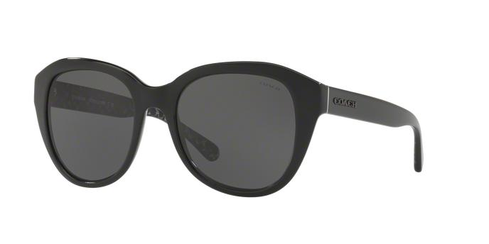 COACH HC8231F 551087 BLACK Dark Grey Solid