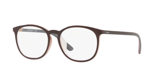 Vogue VO5099D 2450 TOP BROWN/TRANSPARENT BEIGE Demo Lens