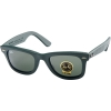 Ray Ban RB2140QM 1170 Green Leather G-15