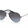 Ray Ban Aviator RB3558 002/T3 Polarized lenses black frame