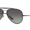 Ray Ban Aviator RB3584N 153/11 DEMI GLOS BLACK Grey Gradient Dark Grey