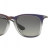 Ray Ban RB4221F 622413 BROWN SHOT ON BLACK Brown Gradient Dark Brown
