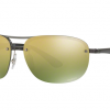 Ray Ban RB4275CH 876/6O Gold Mirror Chromance polarized