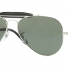 Ray Ban RB3422Q 003 SILVER Crystal Green