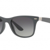 Ray-Ban RB4195F 633211 MATTE DARK GREY Grey Gradient Dark Grey