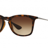 Ray Ban RB4221F 865/13 RUBBER DARK HAVANA Gradient Brown