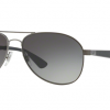 Ray Ban RB3549 029/11 Matte Gunmetal Grey Gradient