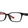 RayBan RX5330D 5499 Black/Red Frame Eyeglasses