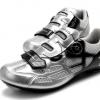 รองเท้าปั่นจักรยานเสือหมอบ TIEBAO สีดำเงิน : TB15-B1259_0402