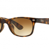 Ray Ban New Wayfarer RB2132F 710/71 Brown Gradient