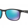 Ray Ban RB4263 601SA1 MATTE BLACK Blue Flash Chromance Polarized