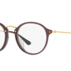 Ray-Ban RX2447VF 8032 OPAL BROWN