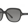 COACH HC8192F 542011 BLACK/BLACK GUNMETAL SIG C Grey Gradient
