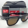 Ray Ban RB2140 902/57 Wayfarer Brown Polarized 50mm