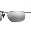 Ray Ban RB3542 029/5J MATTE GUNMETAL Grey Mirror Silver Polarized