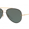 Ray Ban Aviator RB3584N 905071 GOLD Dark Green
