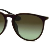Ray-Ban Erika RB4171F 6316E8 Green Brown Gradient