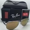 RAY BAN RB8313 004/N3 Gunmetal / Gold Mirror polarized