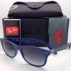 RayBan RB4207 60158G Wayfarer Liteforce Matte Blue