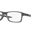 Oakley OX8089-03 CHAMFER MNP SATIN GREY SMOKE Clear