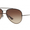 Ray Ban Aviator RB3584N 004/13 GUNMETAL Brown Gradient Dark Brown
