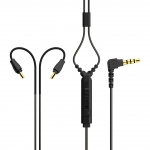 M6 PRO REPLACEMENT STEREO AUDIO CABLE (BLACK) มีไมต์