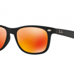 Ray Ban RJ9052SF 100S6Q MATTE BLACK Red Multilayer