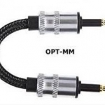 ADL Opt-MM Optical Cable แบบ3.5mm-3.5mm ยาว10cm