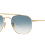 Ray Ban RB3648 001/3F GOLD Clear Gradient Blue