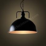 โคมไฟห้อยเพดานLoft Style รุ่น Black Dome (C05)