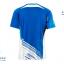 ชุดแบดมินตัน เสื้อแบดมินตัน VICTOR สีฟ้า : 413 thumbnail 2